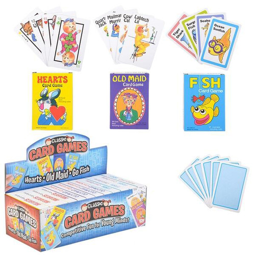 Classic Card Games Assorted