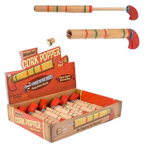 """Wooden Pop Gun 8"""""""