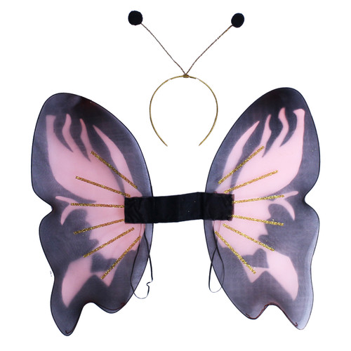 Monarch Butterfly Wings & Antennae Costume