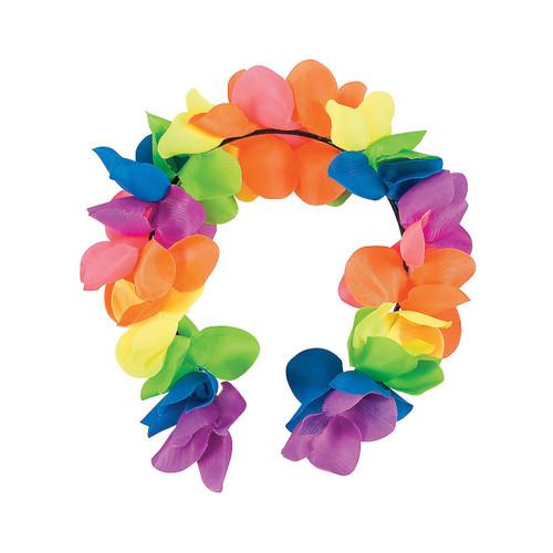 Rainbow Flower Headbands