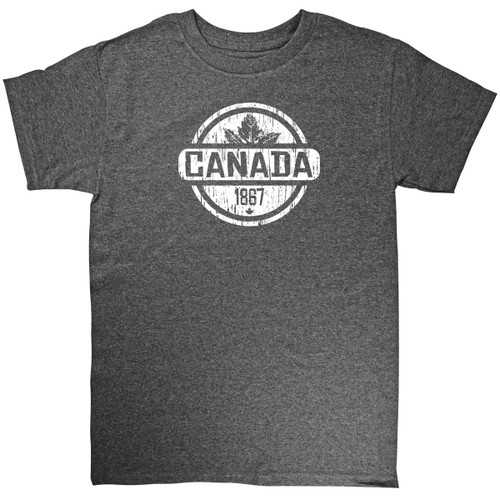Distress Circle Canada Adult Tee