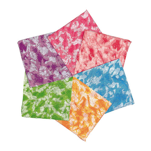 Tie-Dyed Bandanas