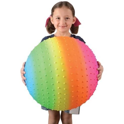Rainbow Knobby Ball / 18 inch
