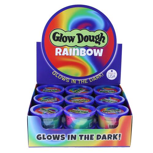 Rainbow Glow Dough