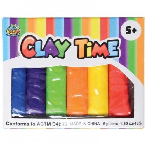 Mini Rainbow Modeling Clay