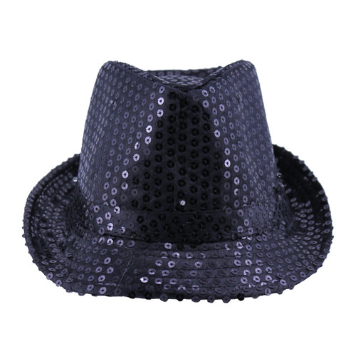Black Flashing Fedora