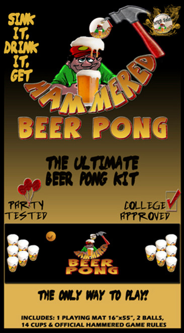 Beer Pong Game Ultimate Kit