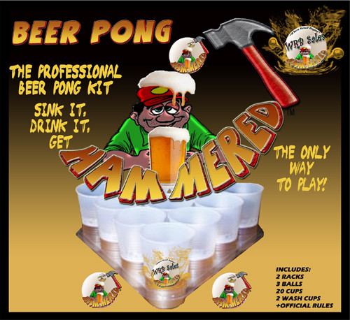 Beer Pong Game Professional Kit