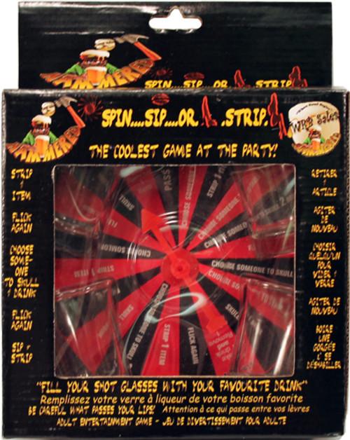 Spin Sip or Strip Drinking Game