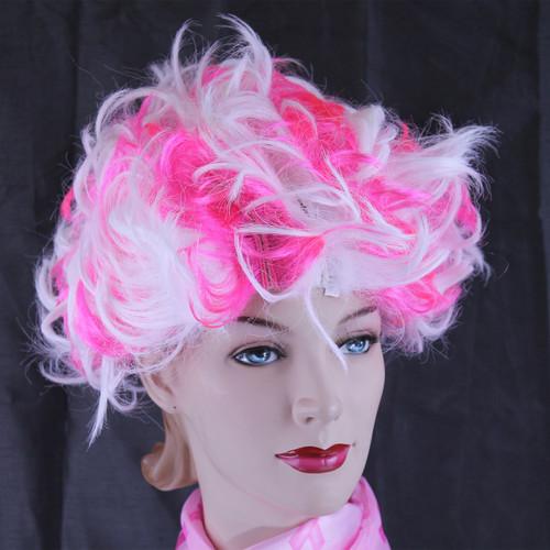 Pink & White Wig