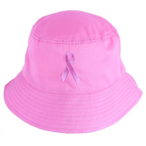 Pink Ribbon Pink Bucket Hat