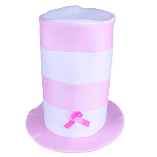 Pink Ribbon Plush Hat