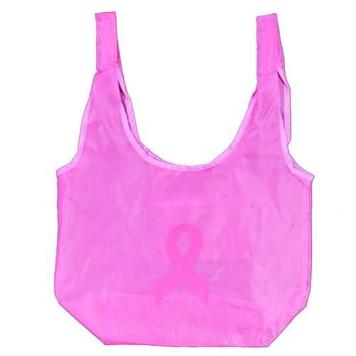 Pink Ribbon Bag with Handles