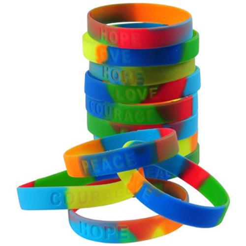 Rainbow Bracelet  12PK
