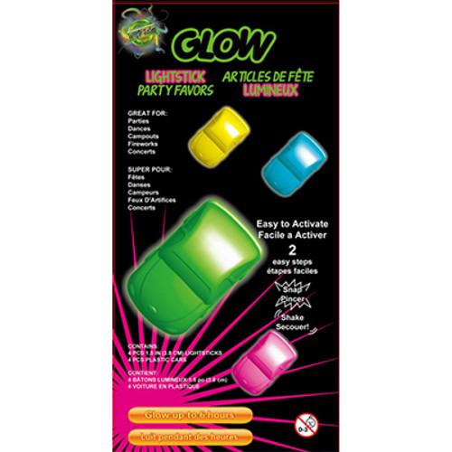 Glow Cars 4PK