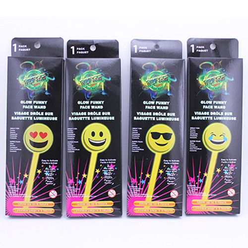 Glow Funny Face Wand