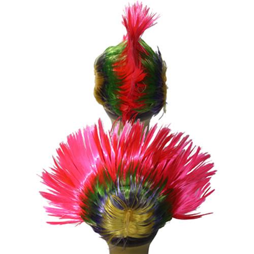 Flashing Mohawk Wig