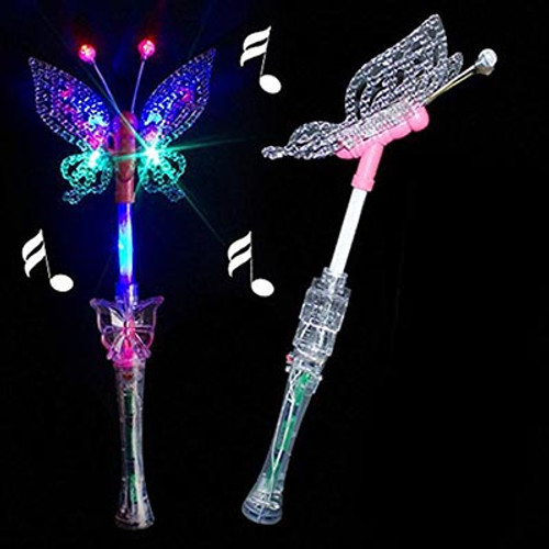 Butterfly LED Flashing Wand w/ Music