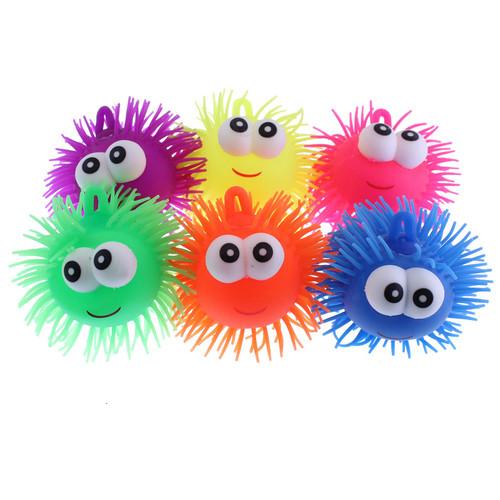 Smile Face Flashing Puffer Balls