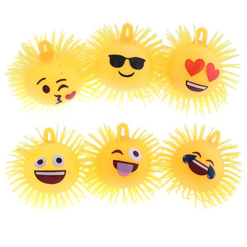 Emoji Flashing Puffer Balls