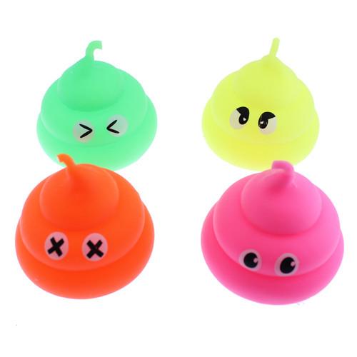 Emoji Poop Flashing Puffer Balls