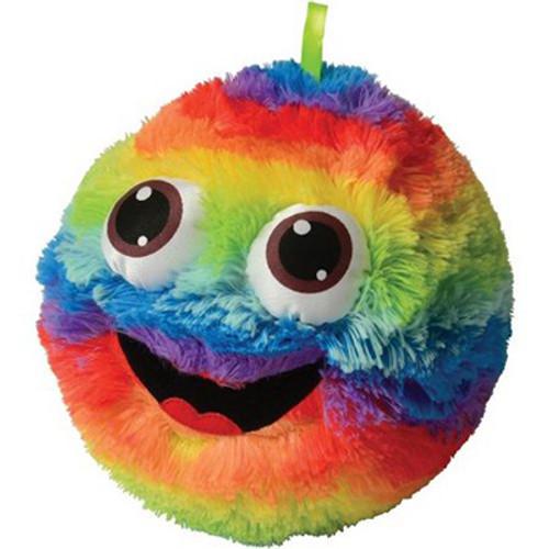 """Rainbow Fluffy Ball 9"""""""