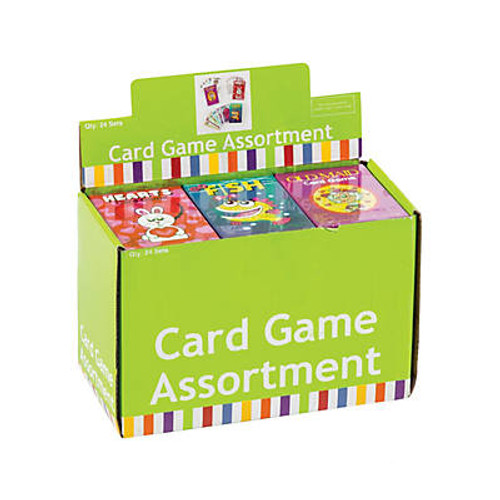 Paper Card Game Assortment