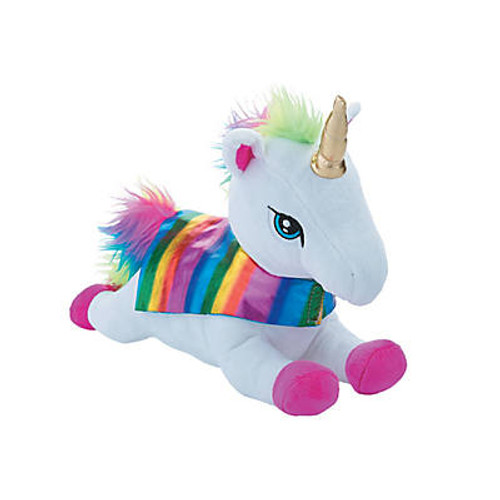 "14"" Stuffed Super Unicorn"