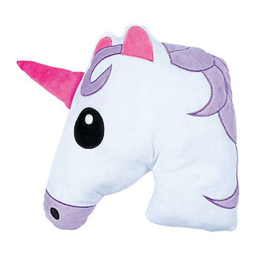 "12"" Plush Unicorn Emoji"