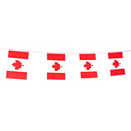 Canada Flag Pennant Banner 16.5 FT