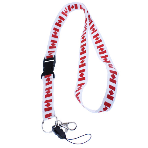 Canada Lanyard With Release Clip