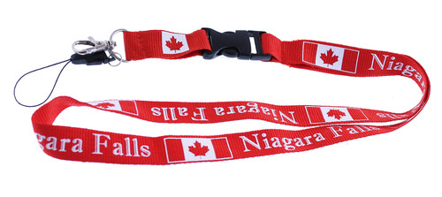Niagara Falls Lanyard Necklace With Release Clip