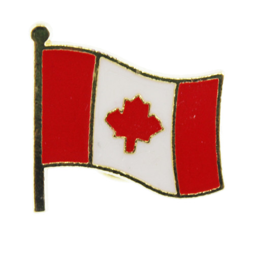 Canada Flag Pin Carded