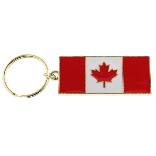 Canada Flag Key Chain