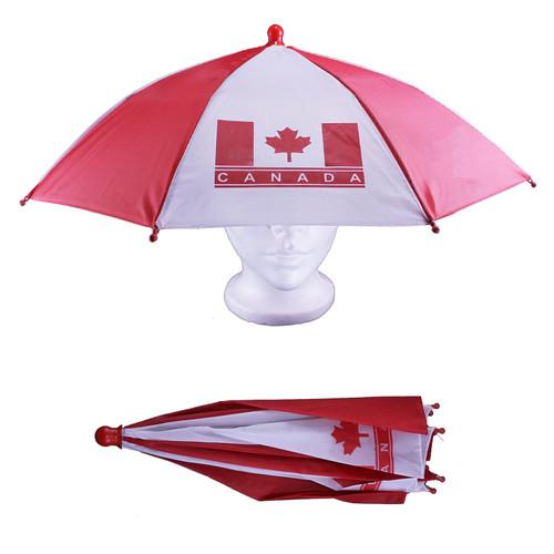 Canada Umbrella Hat