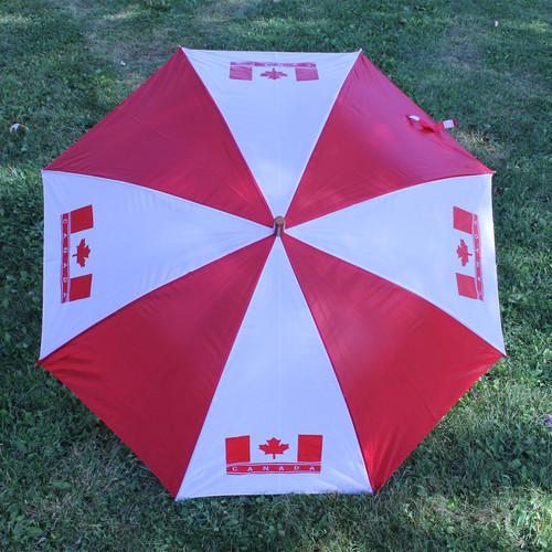 Canada Umbrella with Wooden Handle