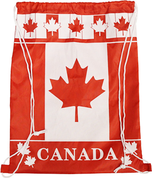 Polyester Canada Drawstring Bags