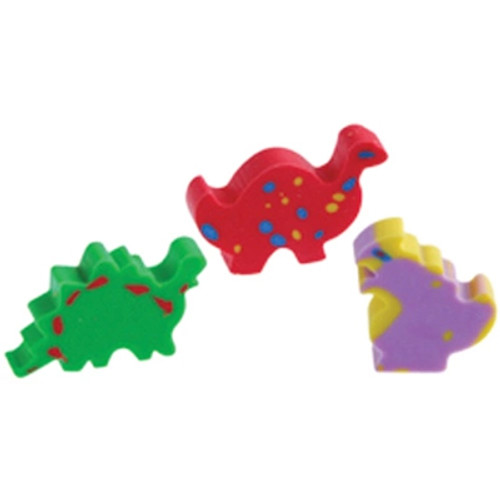 Mini Dinosaur Erasers