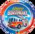 "Birthday Fire Truck 18"" Foil Balloon"