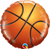 "Basketball 18"" Foil Balloon"