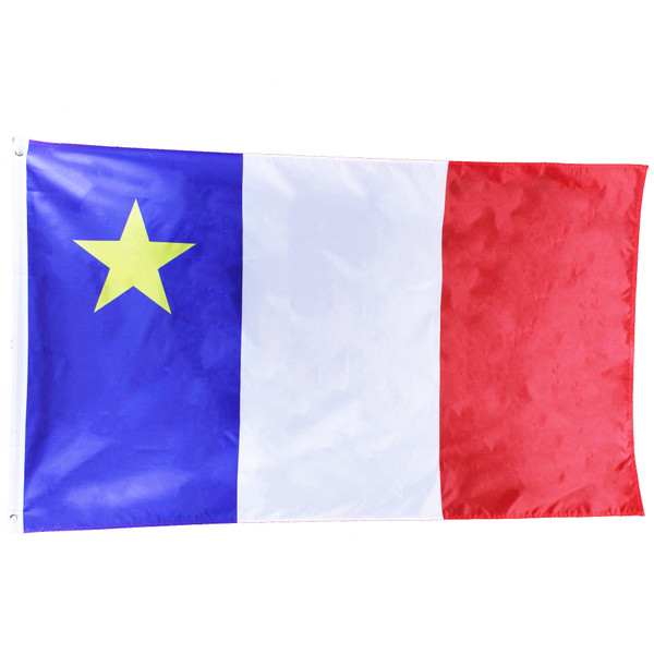 Acadian 3 x 5 Foot Flag