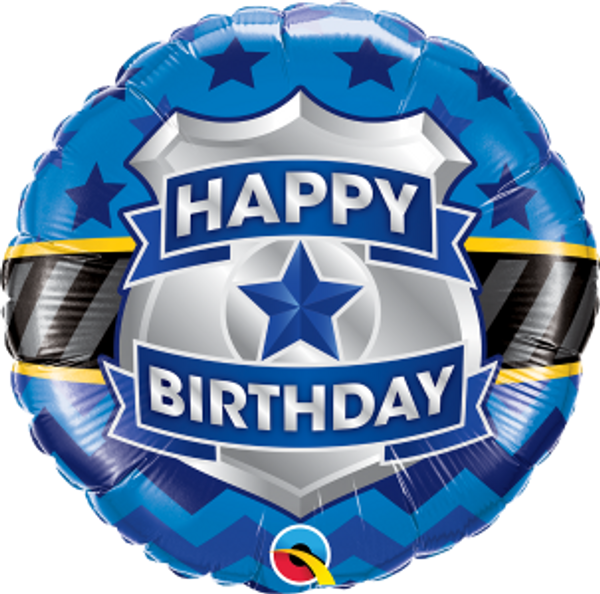 "Birthday Badge 18"" Foil Balloon"