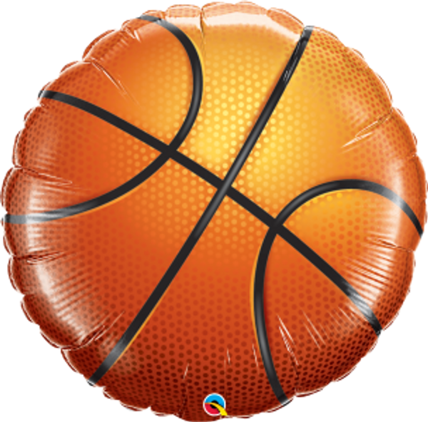 "Basketball 36"" Foil Balloon"