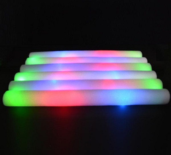 Foam LED Multi-Color Flashing Wand