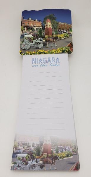 Niagara on the Lake Magnetic Notepad