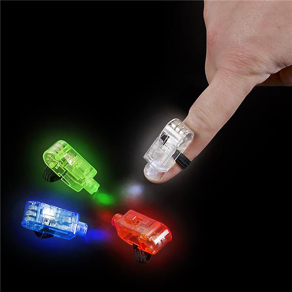 Light Up Finger Beams 4 PK