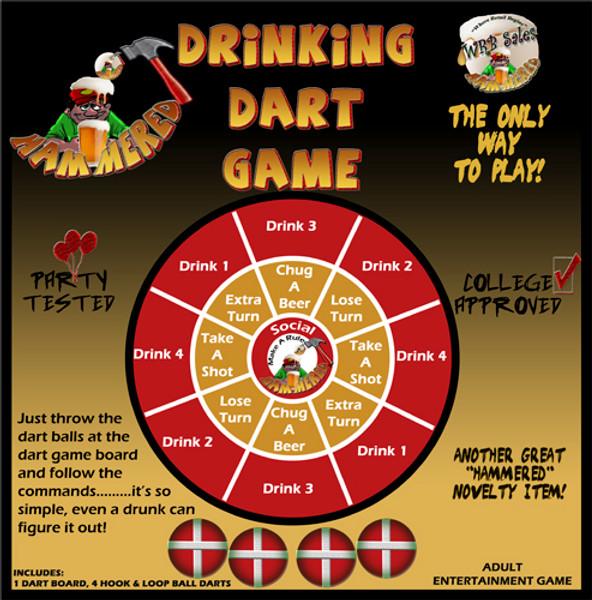 Drinking Dart Game
