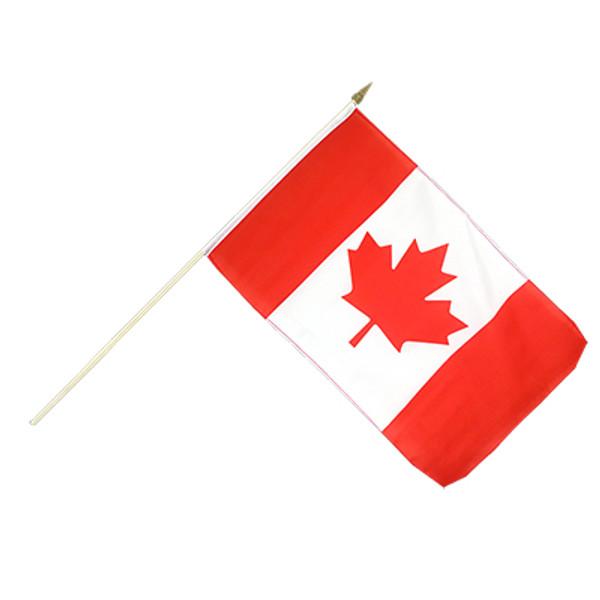 "Canada Hand Waving Flag 12x18"""