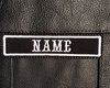 """CREATE YOUR OWN 1""""X4"""" NAME PATCH WITH BIKER FONT"""