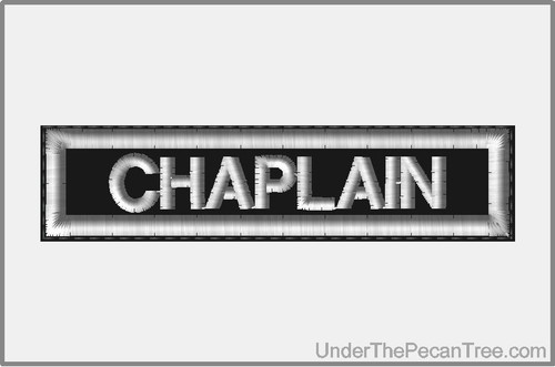 CHAPLAIN MOTORCYCLE CLUB RANK AND POSITION